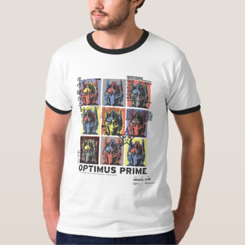Optimus Prime Wanted Poster T_Shirt