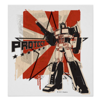 Optimus - Protect Poster