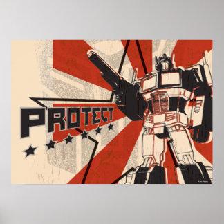 Optimus - proteja posters
