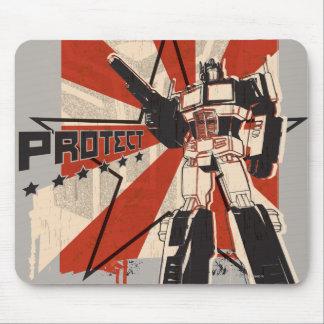 Optimus - proteja tapetes de raton