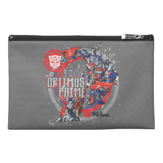 Optimus TF Badge Round Travel Accessory Bags