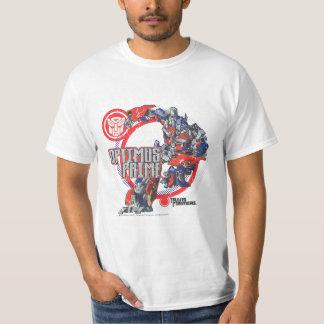 Optimus TF Badge Round Shirt
