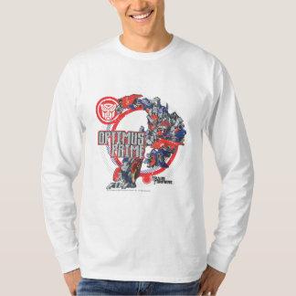 Optimus TF Badge Round Shirts