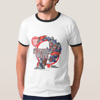 Optimus TF Badge Round T-Shirt