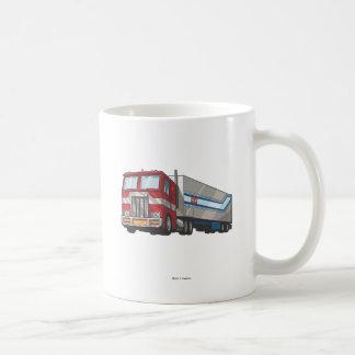 Optimus Truck Mode Classic White Coffee Mug