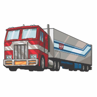 Optimus Truck Mode Photo Sculpture