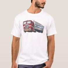 Optimus Truck Mode T-Shirt at Zazzle