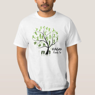 OPTION 3 - (Front & Back) 2 Hagan Generations T-Shirt
