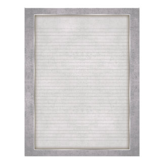 Optional Lines Letterhead with Aged Frame