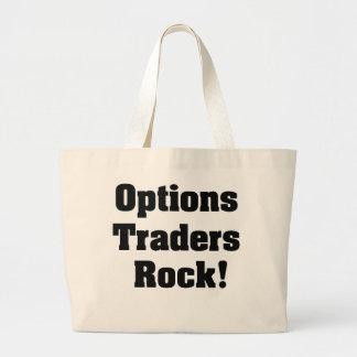 Options Traders Rock Jumbo Tote Bag