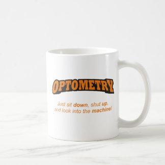Optometría/máquina Taza Clásica