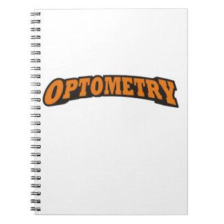 Optometría Spiral Notebook