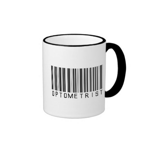 Optometrist Bar Code Coffee Mugs