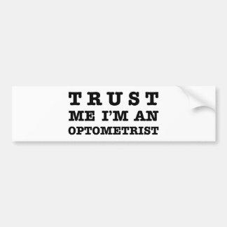 Optometrist Bumper Sticker
