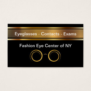 Optometry business cards templates zazzle optometrist business cards colourmoves