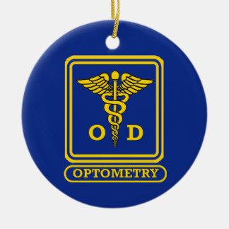 Optometrist Ceramic Ornament