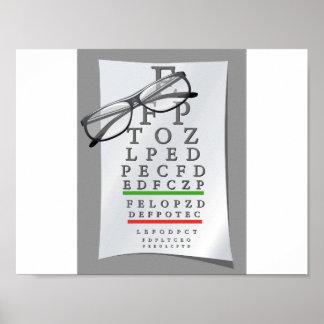 Optometrist Chart Poster