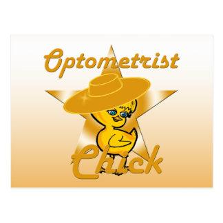 Optometrist Chick #10 Postcard