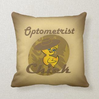 Optometrist Chick #6 Pillows