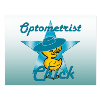 Optometrist Chick #7 Postcard