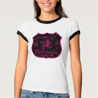 Optometrist Diva League T Shirt