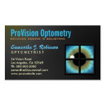 Optometrist Eyecare Business Card Business Card Template
