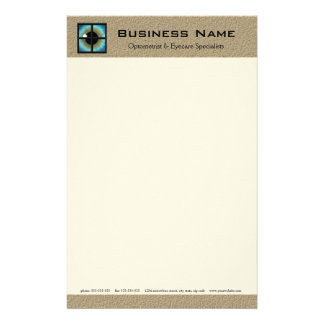 Optometrist & Eyecare Specialists Stationery Paper