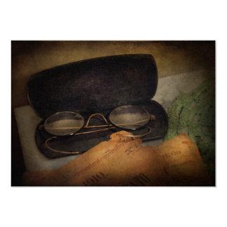 Optometrist - Glasses for Reading Custom Invites