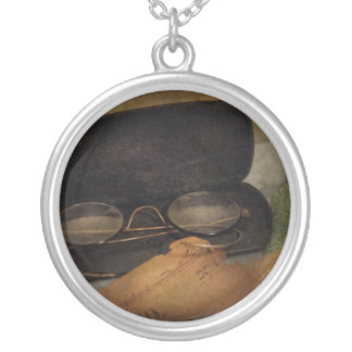 Optometrist - Glasses for Reading Round Pendant Necklace