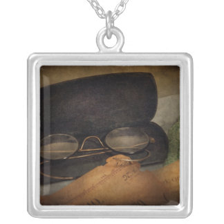 Optometrist - Glasses for Reading Square Pendant Necklace