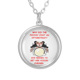 optometrist personalized necklace