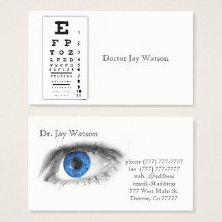 Optometrist Ophthalmologist Eye Destiny Destiny'S Business Card