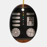 Optometrist - Optical Confusion Christmas Ornaments