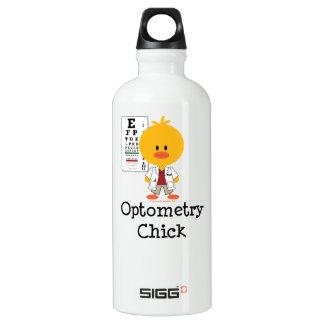 Optometrist Optometry Chick Chick Aluminum Water Bottle