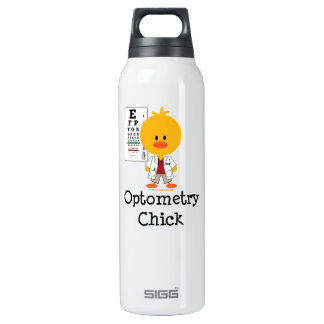 Optometrist Optometry Chick Chick Thermos Bottle