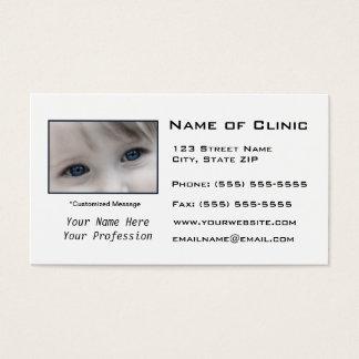 Optometrist Optometry Eye Exam Business Card