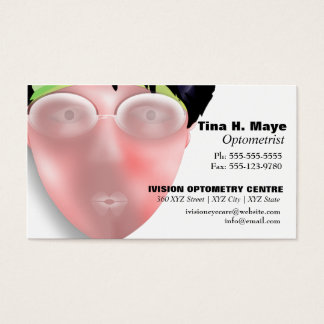 Optometrist Optometry Eyecare Business Card