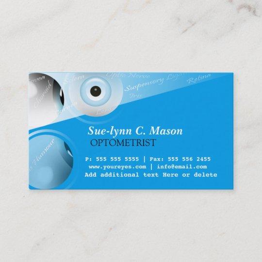 Optometrist optometry eyes business card zazzle optometrist optometry eyes business card colourmoves