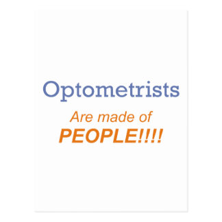 Optometrist / People Post Card