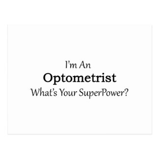Optometrist Postcard