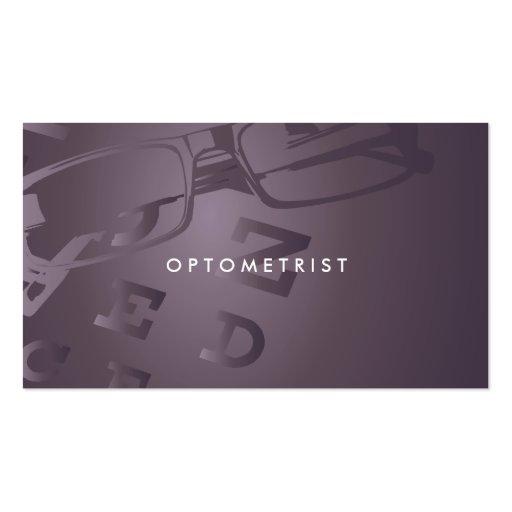 Optometrist professional business card zazzle for Optometrist business card