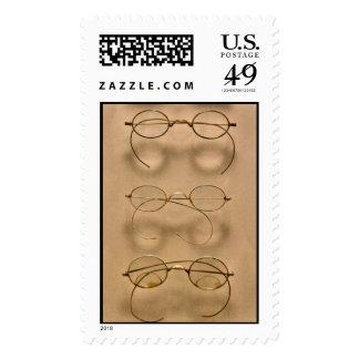 Optometrist - Simple gold frames Stamp