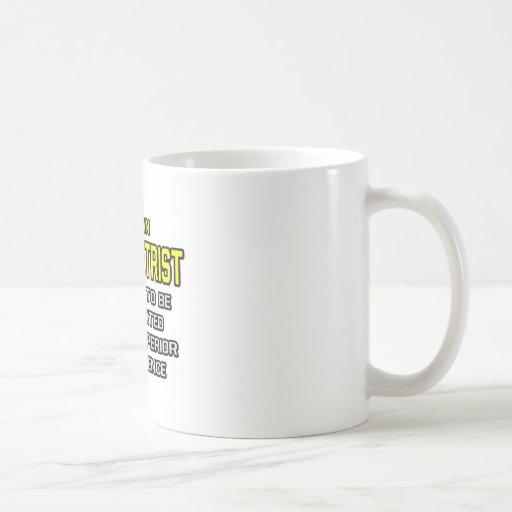 Optometrist...Superior Intelligence Coffee Mugs