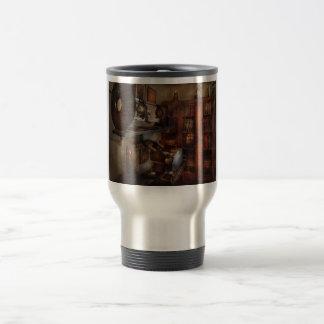 Optometrist - The lens apparatus Travel Mug