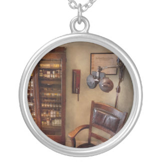 Optometrist - The Optometrists Office Round Pendant Necklace
