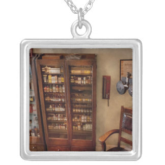 Optometrist - The Optometrists Office Square Pendant Necklace