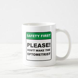 Optometrist / Wake Classic White Coffee Mug