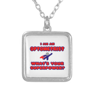 Optometrist .. What's Your Superpower? Personalized Necklace