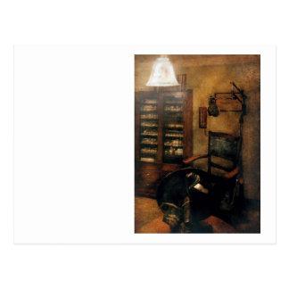 Optometrista - la oficina de los optometristas tarjeta postal