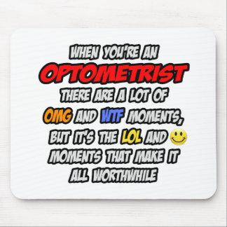 Optometrista. OMG WTF LOL Alfombrillas De Ratón